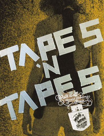 TAPES N TAPES / WALK IT OFF (YELLOW)