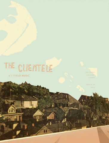 THE CLIENTELE / FIELD MUSIC
