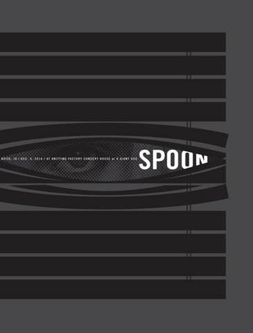 SPOON / Peeking Blinds