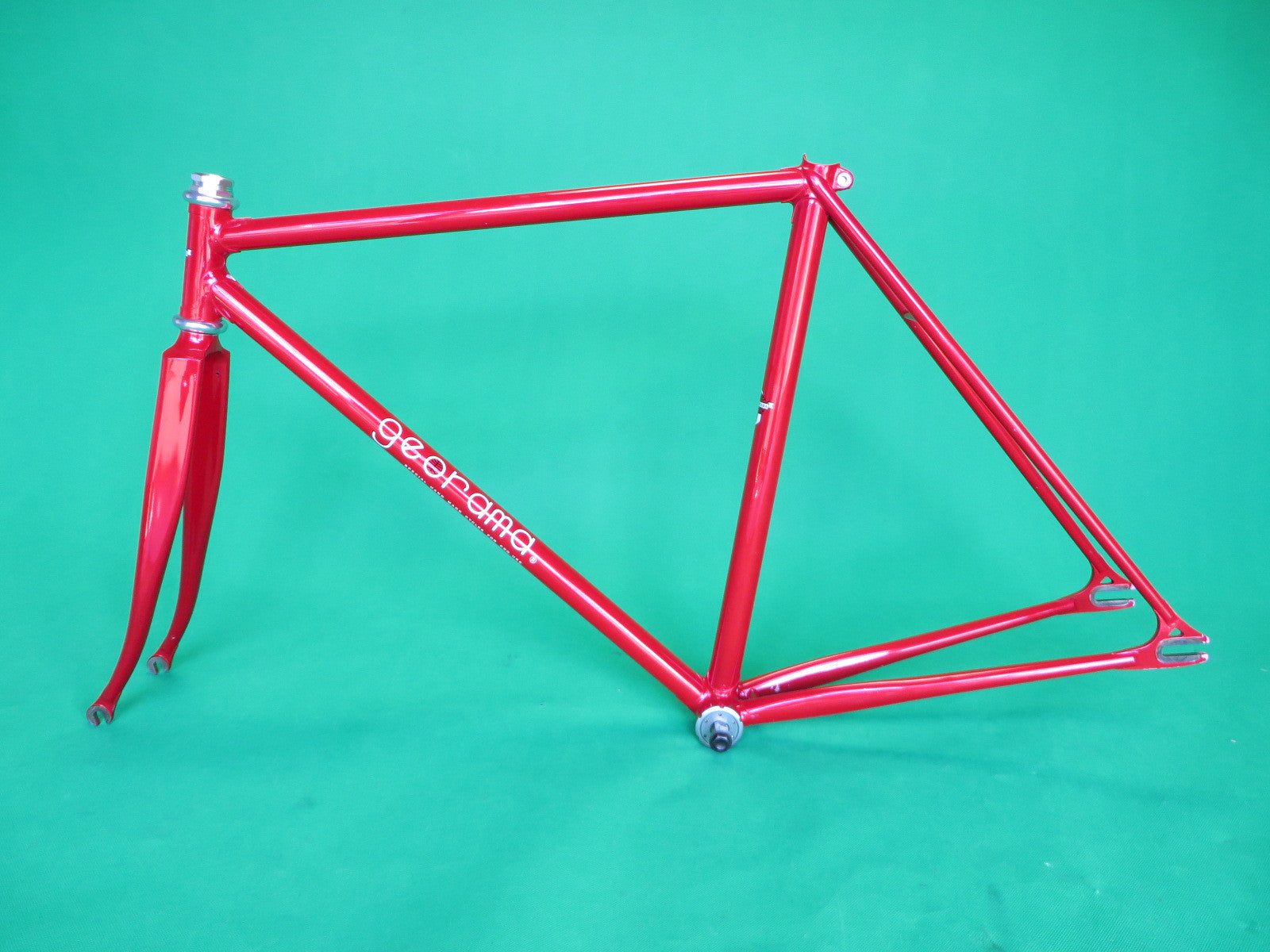 GEORAMA | metallic red | Columbus MAX fork | 49.5cm