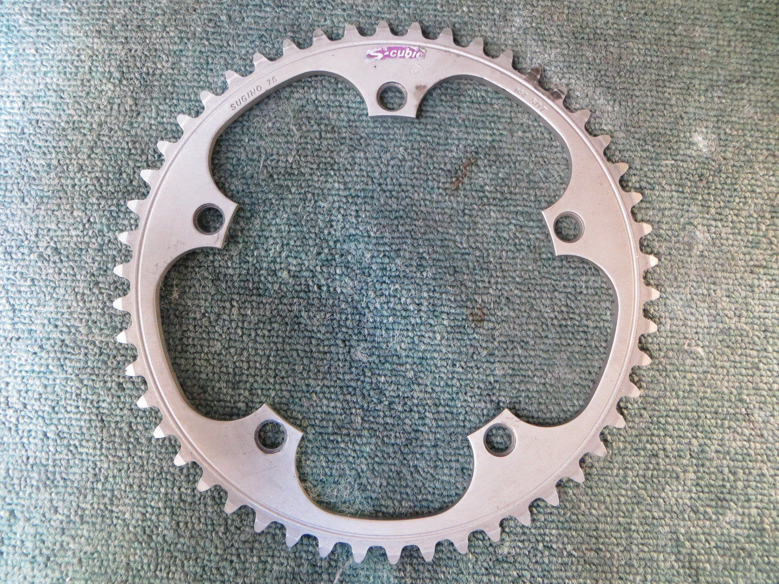 "Sugino S-cubic 144BCD 1/8"" NJS Matte Finish Chainring 50T (15112810)"