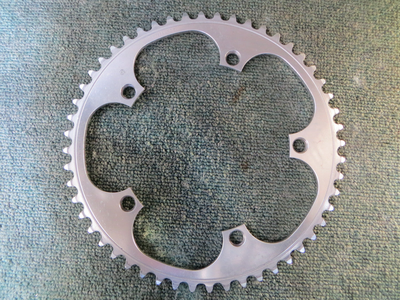 "Sugino Aero Mighty 144BCD 1/8"" NJS Chainring 51T (15112821)"