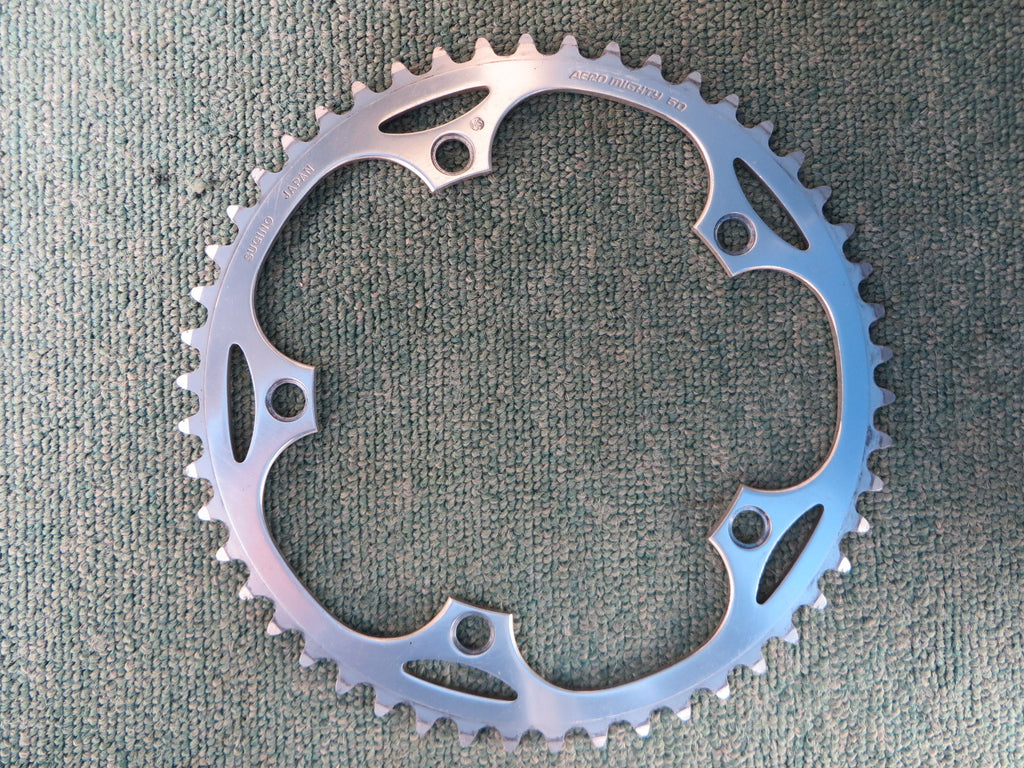 "Sugino Aero Mighty 144BCD 1/8"" NJS Chainring 50T (14102425)"