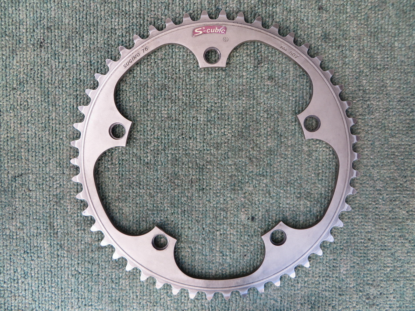 Sugino S-cubic Matte Finish 144BCD NJS Chainring 50T (231228044)
