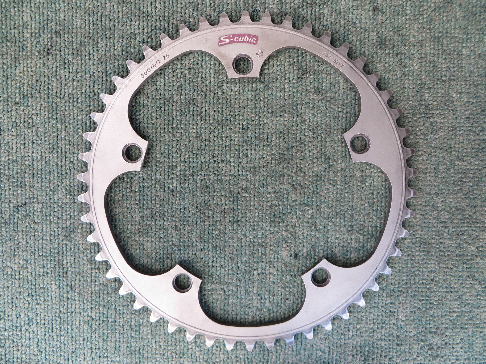 Sugino S-cubic Matte Finish 144BCD NJS Chainring 50T (231228046)