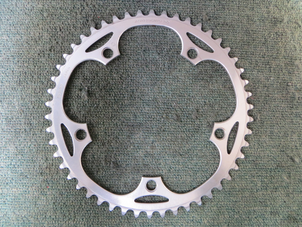 "Sugino Aero Mighty 1/8"" 144BCD NJS Chainring 50T (16032524)"