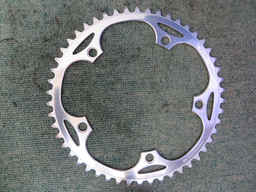 "Sugino Aero Mighty 1/8"" 144BCD NJS Chainring 50T (15071237)"