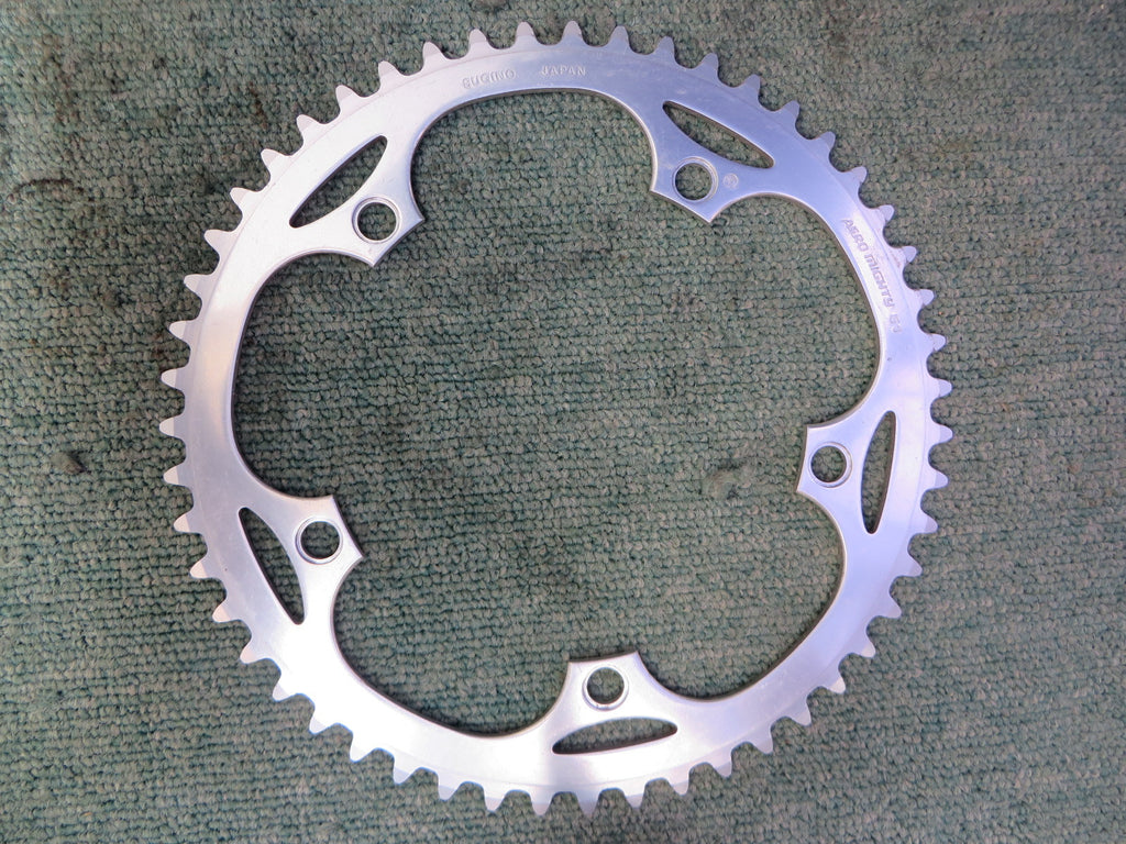 "Sugino Aero Mighty 1/8"" 144BCD NJS Chainring 51T (15071240)"
