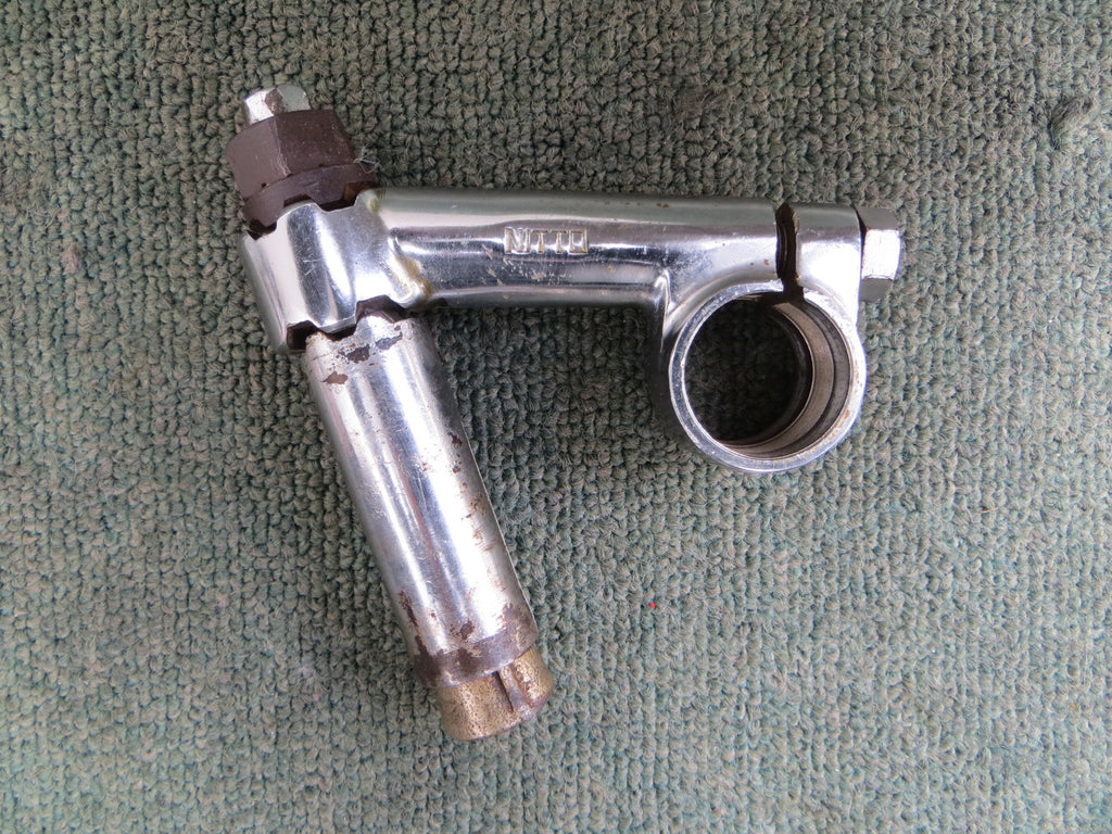 Vintage Nitto Racing Reversible Steel Stem 70mm 22.2mm quill diameter/25.4mm bar clamp diameter