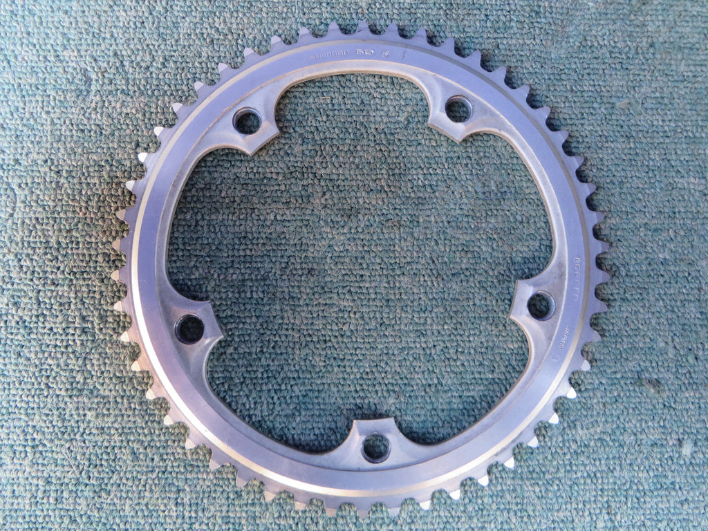 "Shimano Dura Ace 7500 EX 151BCD 1/8"" Chainring 50T Stamped NJS (15010301)"
