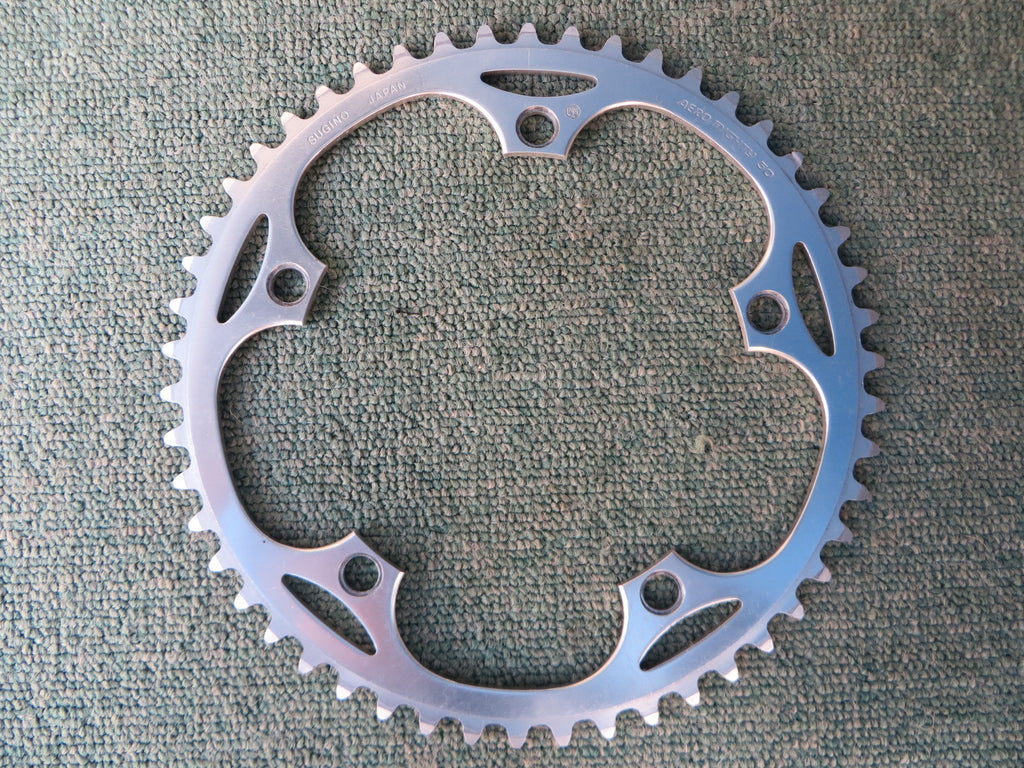 "Sugino Aero Mighty 144BCD 1/8"" NJS Chainring 50T (14102528)"