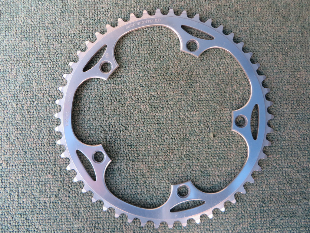 "Sugino Aero Mighty 144BCD 1/8"" NJS Chainring 50T (14102534)"