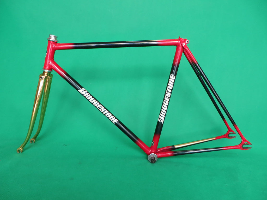 Bridgestone | gold/green-red fade| 52.5cm