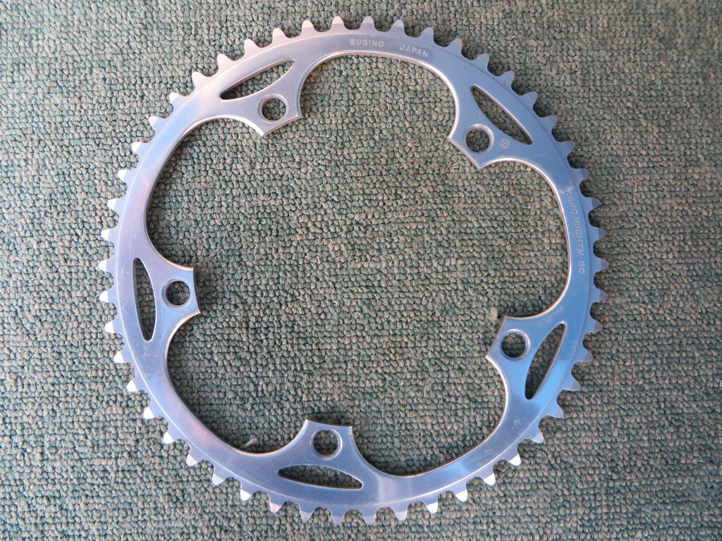 "Sugino Aero Mighty 144BCD 1/8"" NJS Chainring 50T (14102535)"