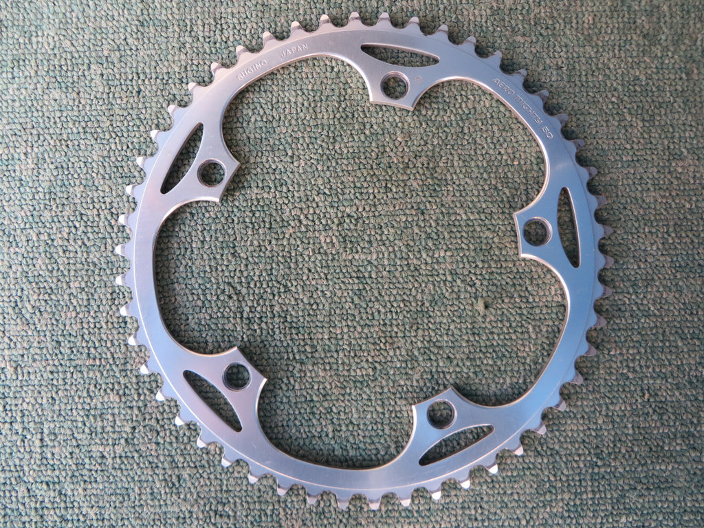 "Sugino Aero Mighty 144BCD 1/8"" NJS Chainring 50T (14102540)"