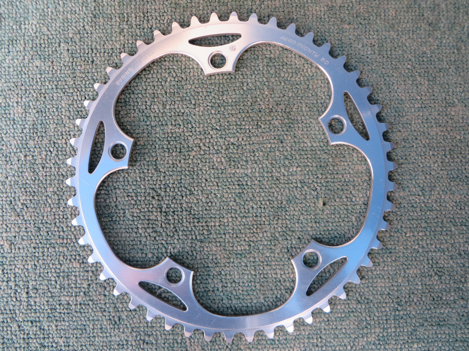 "Sugino Aero Mighty 144BCD 1/8"" NJS Chainring 50T (14102544)"