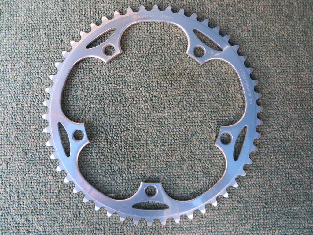 "Sugino Aero Mighty 144BCD 1/8"" NJS Chainring 50T (14102545)"