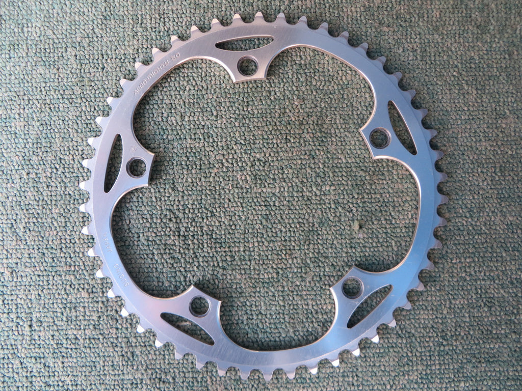 "Sugino Aero Mighty 144BCD 1/8"" NJS Chainring 50T (14102546)"