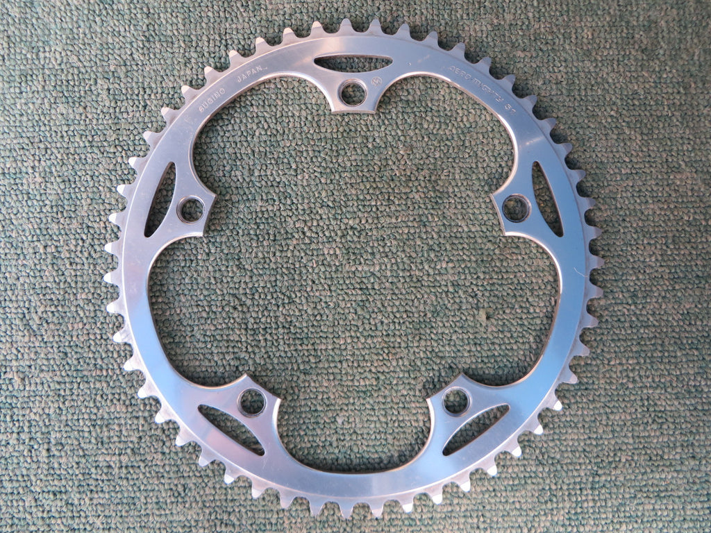 "Sugino Aero Mighty 144BCD 1/8"" NJS Chainring 51T (14102553)"