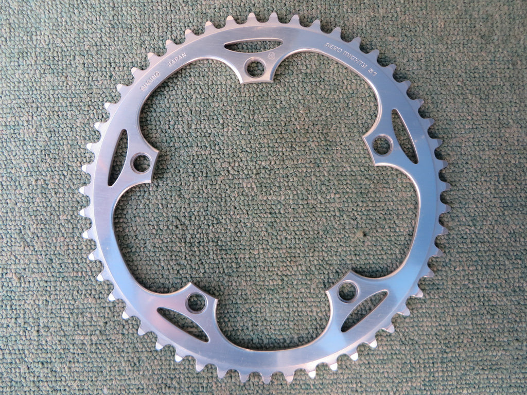 "Sugino Aero Mighty 144BCD 1/8"" NJS Chainring 51T (14102559)"
