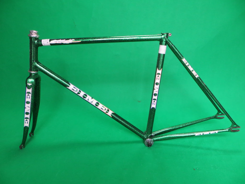 EIMEI // black with super green flake // Columbus Max Fork // 51cm