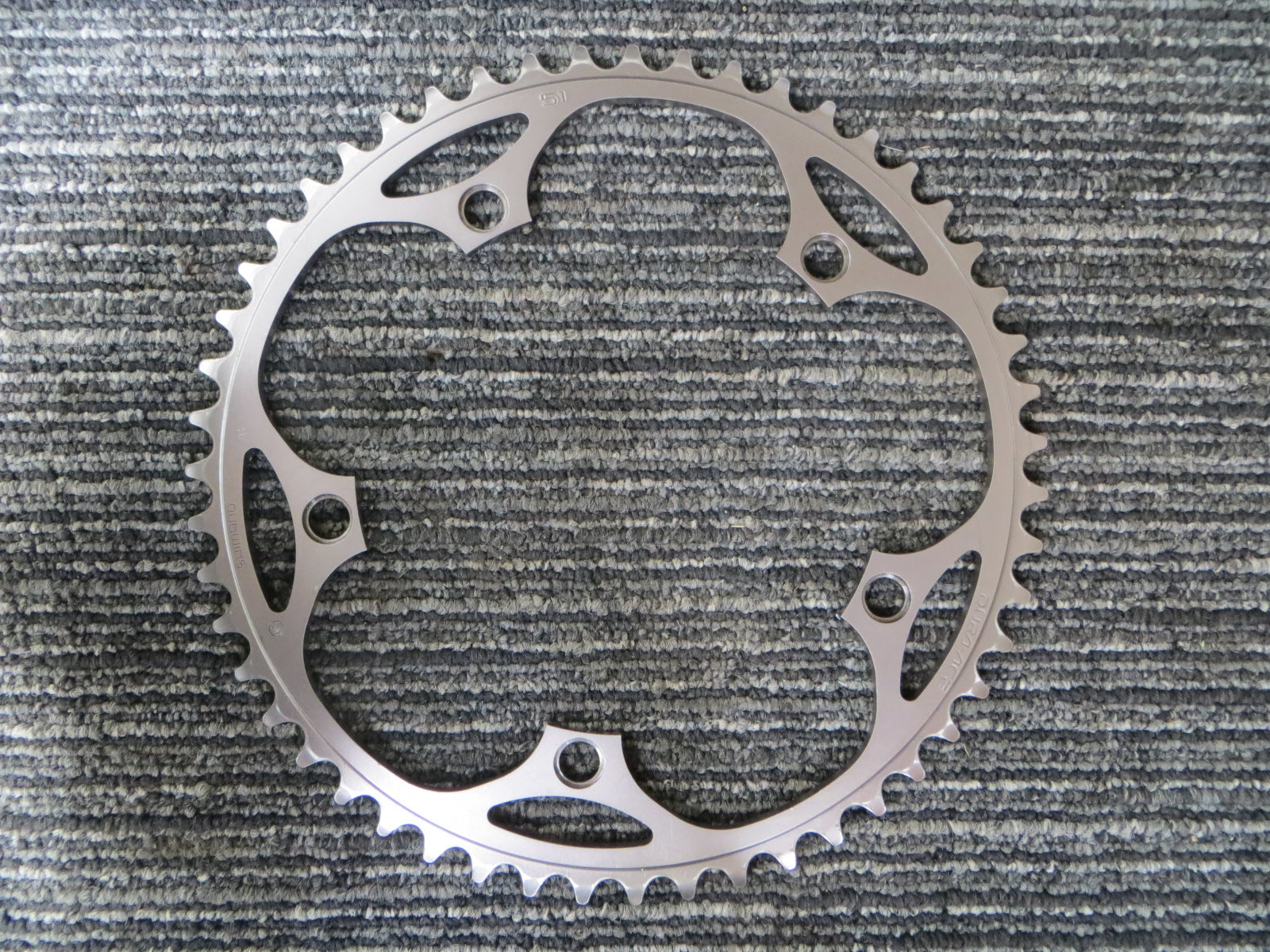 "Shimano Dura Ace FC-7710 1/8"" 144BCD NJS Chainring 51T (18090207)"