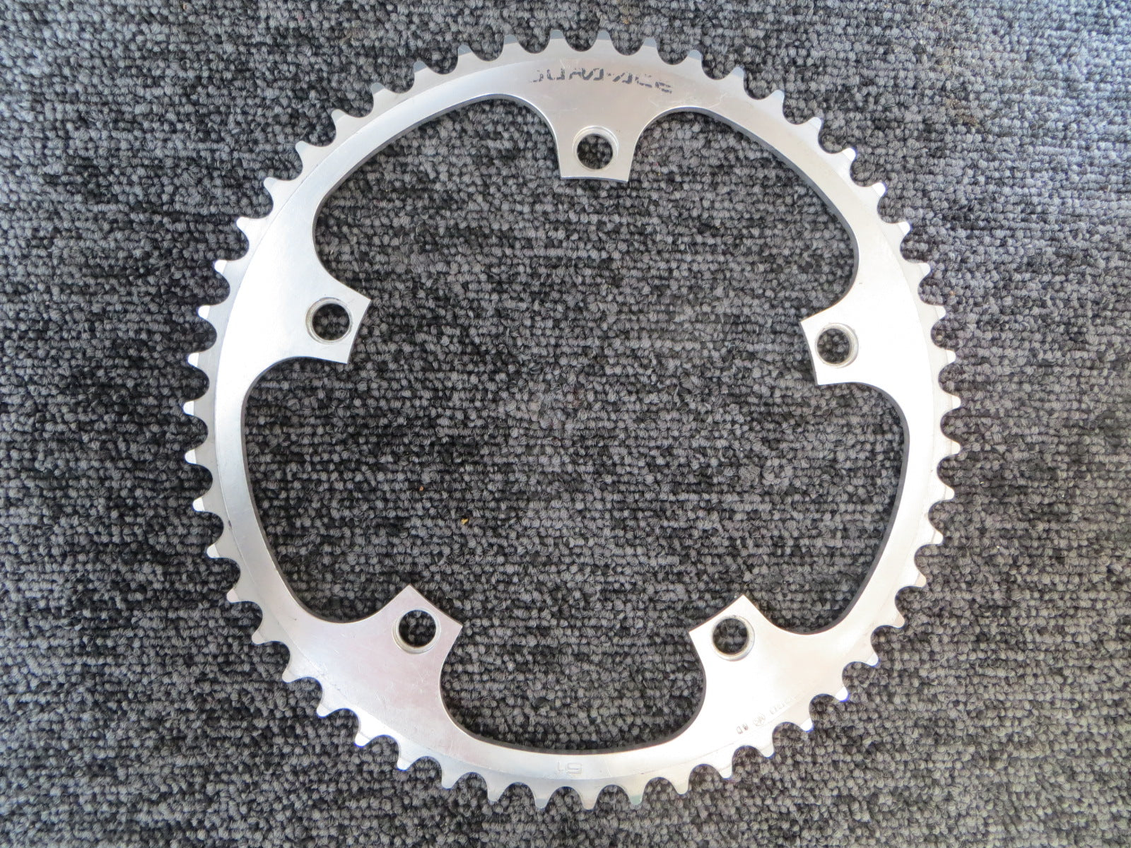"Shimano Dura Ace FC-7600 1/8"" 144BCD NJS Chainring 51T (18071934)"