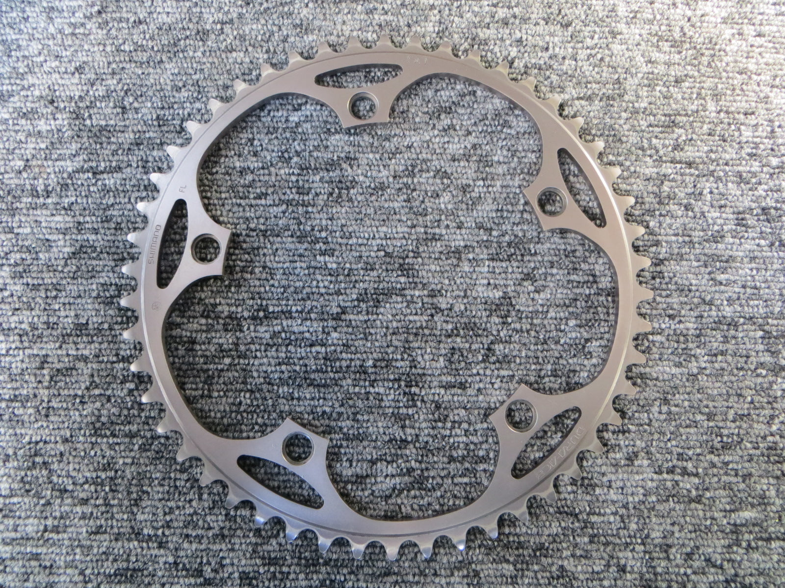 "Shimano Dura Ace FC-7710 1/8"" 144BCD NJS Chainring 50T (18010741)"