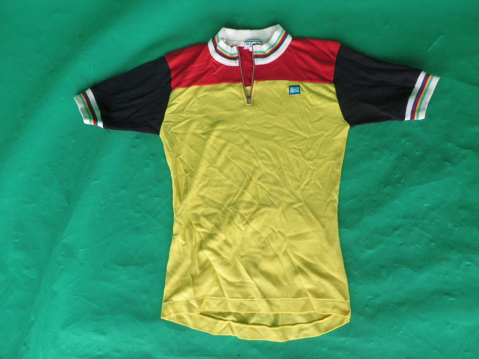 Vintage Cycling Jersey S-size (Japanese SS)