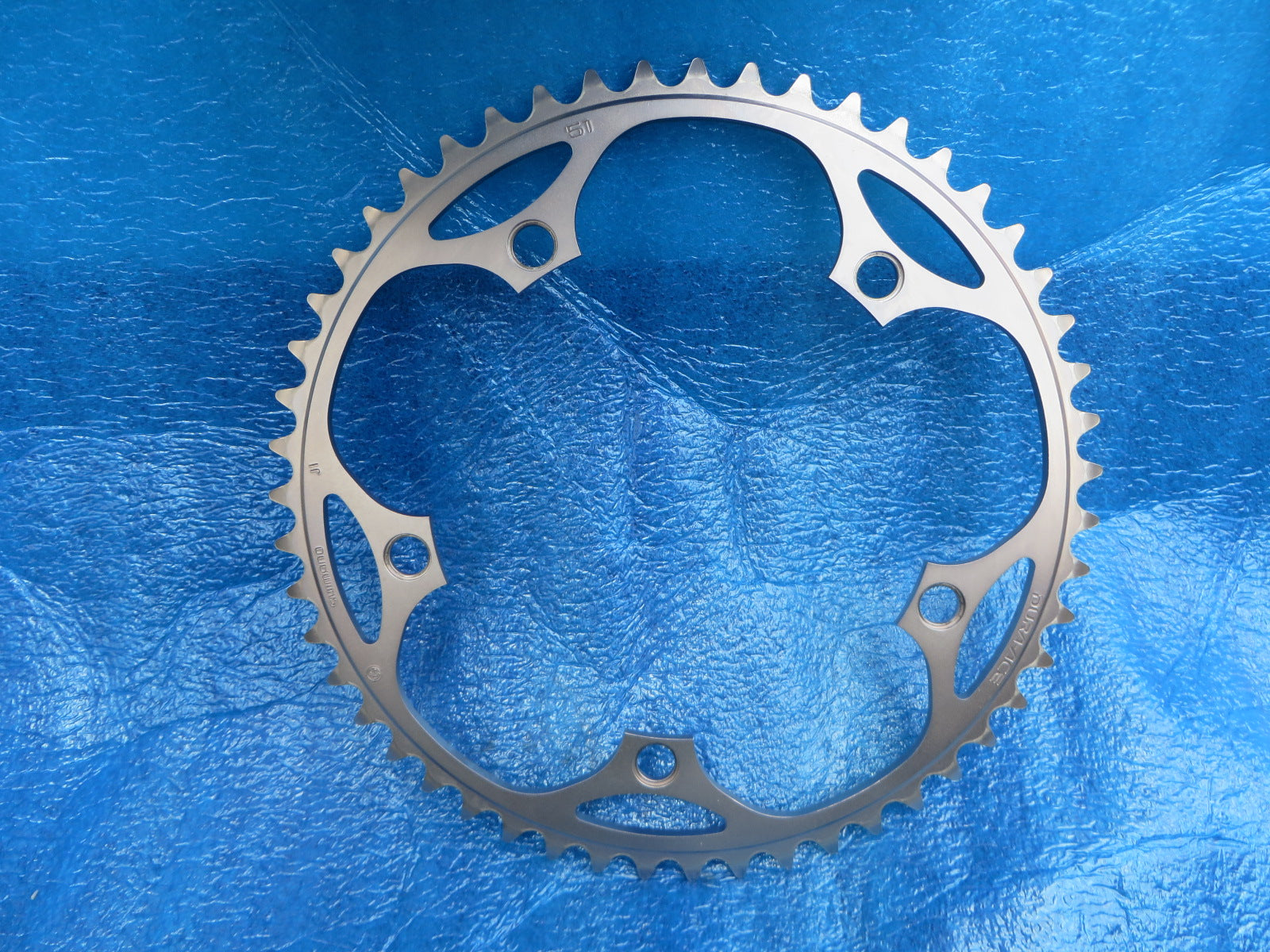 "Shimano Dura Ace FC-7710 1/8"" 144BCD NJS Chainring 51T (19080345)"
