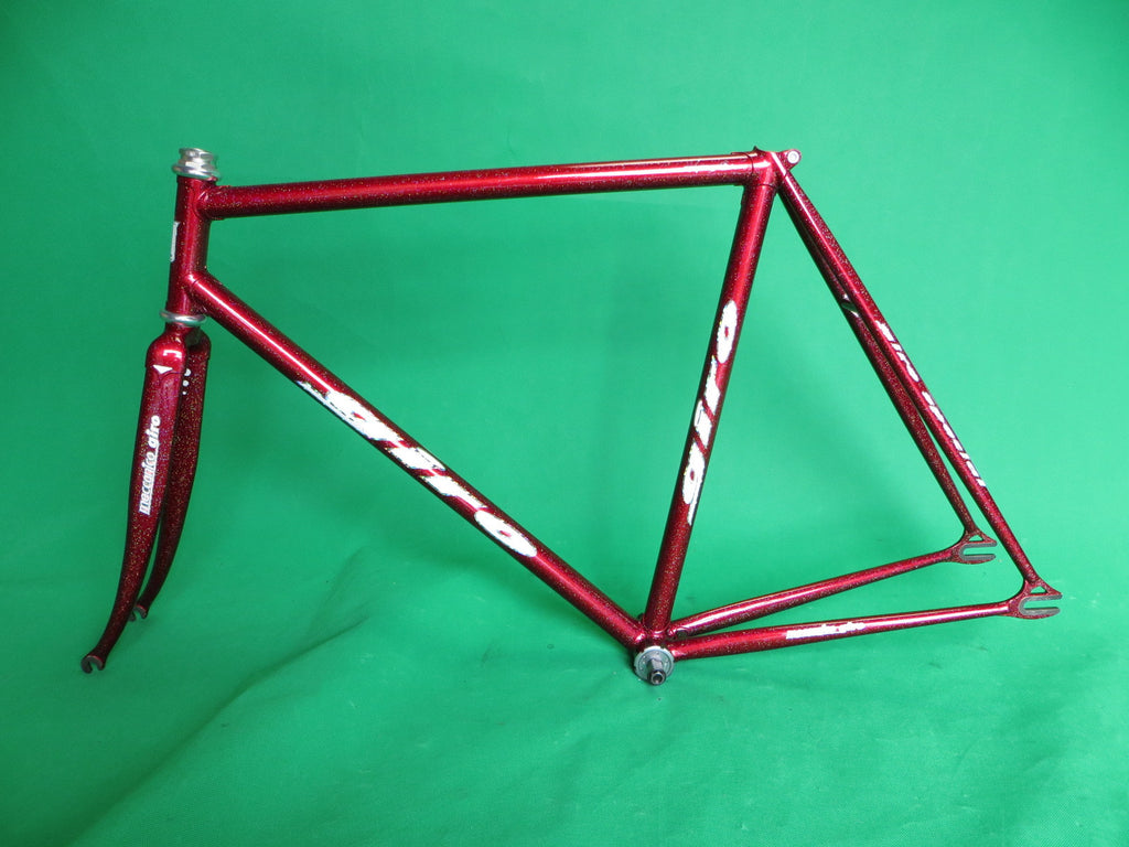 GIRO // red rainbow flake // Columbus Max Fork // 53.5cm