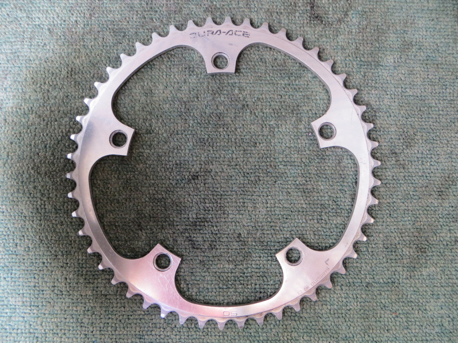 "Shimano Dura Ace FC-7600 1/8"" 144BCD NJS Chainring 50T (16062713)"