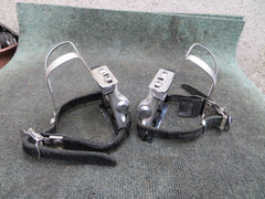 MKS RX-1 NJS Pedals , MKS AA S-size NJS Clips and MKS Fit-alfa NJS Toe Straps (16091843)