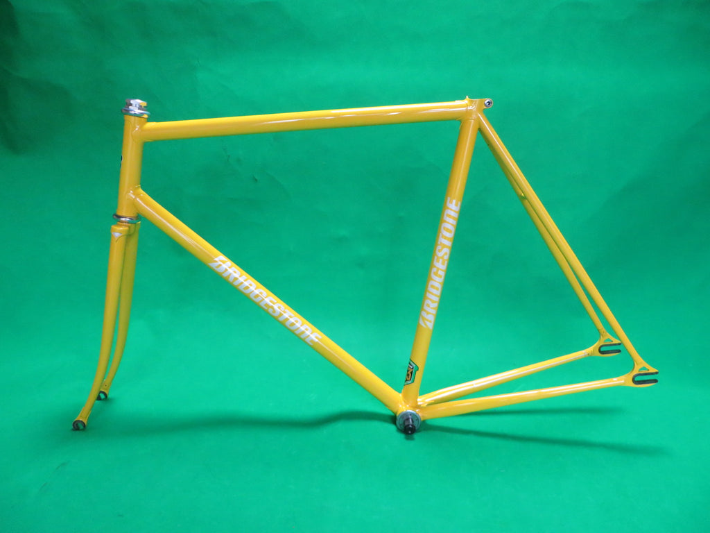 BRIDGESTONE // Yellow Reynolds 853 // 55.5cm