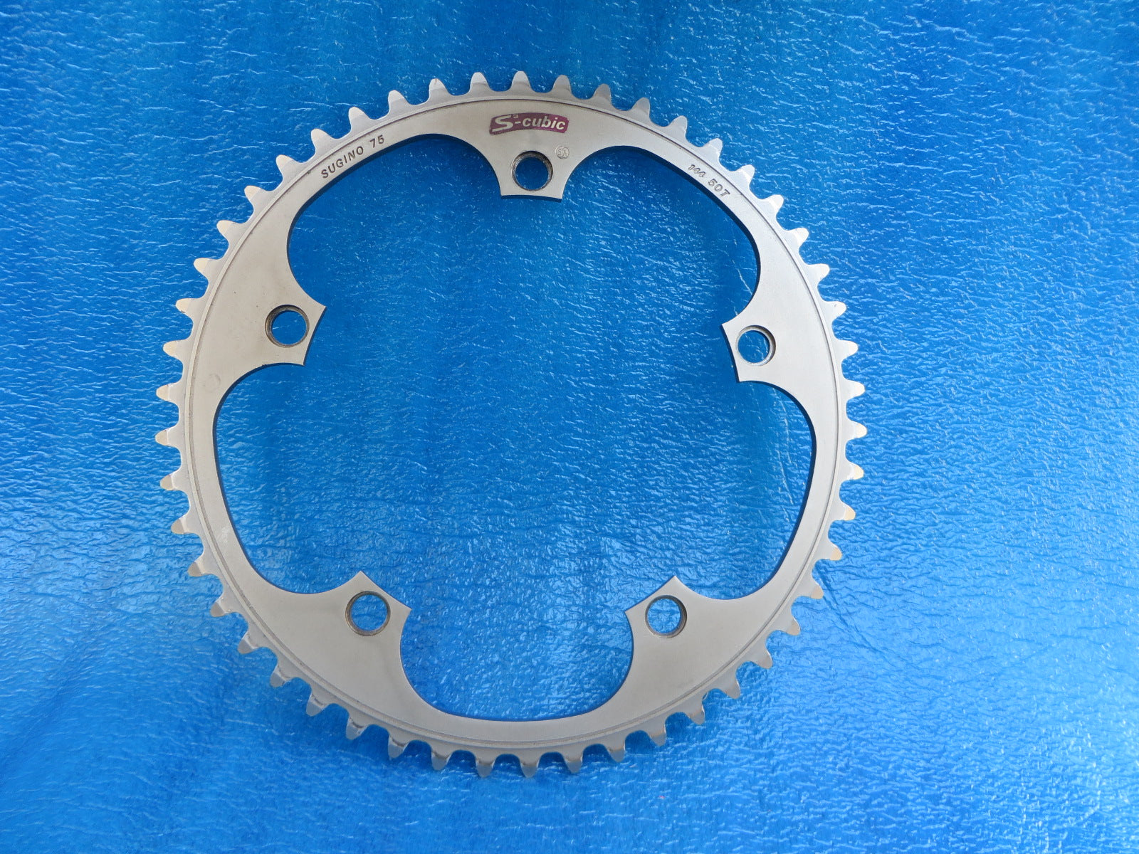 "Sugino S-cubic 1/8"" 144BCD NJS Chainring 50T Matte Finish (20011304)"