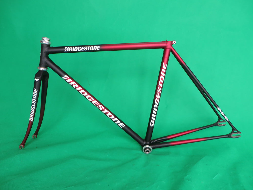 Bridgestone // Matte Black / Matte Red Fade // 50cm
