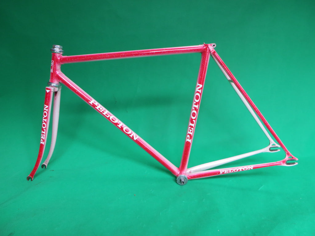 PELOTON // White-Red Fade // 50.5cm