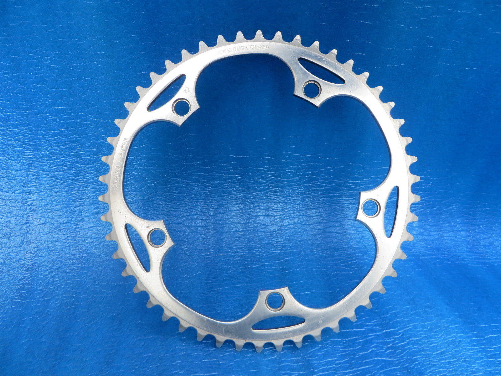 "Sugino Aero Mighty 144BCD 1/8"" NJS Chainring 50T (19031004)"