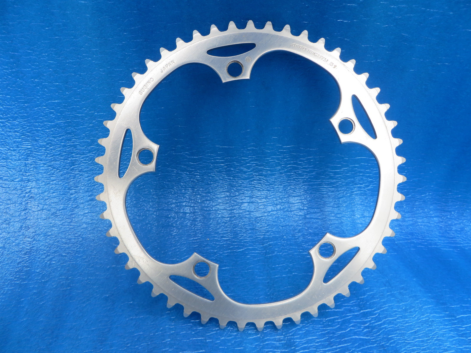 "Sugino Aero Mighty 144BCD 1/8"" NJS Chainring 51T (19031007)"