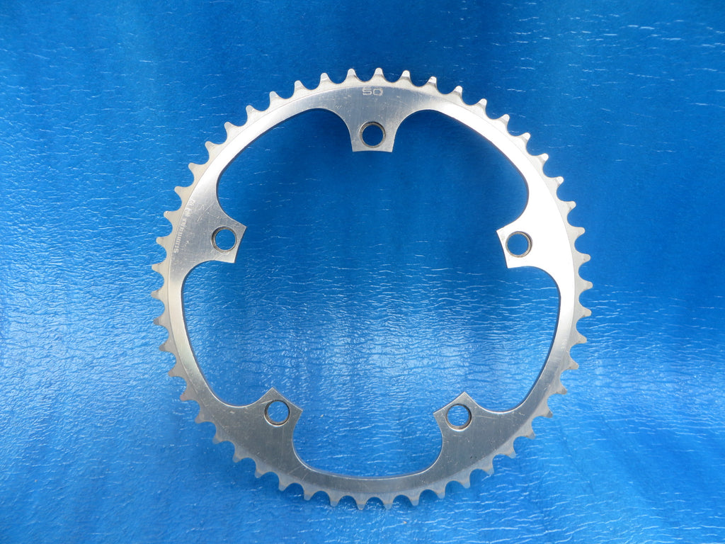 "Shimano Dura Ace FC-7600 1/8"" 144BCD NJS Chainring 50T (19031046)"