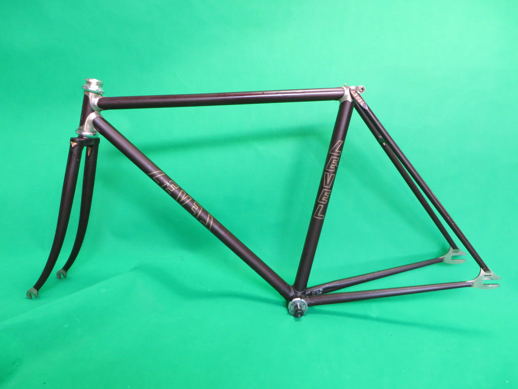 LEVEL // Matte Brown / Chrome Plated Lugs // 48.5cm