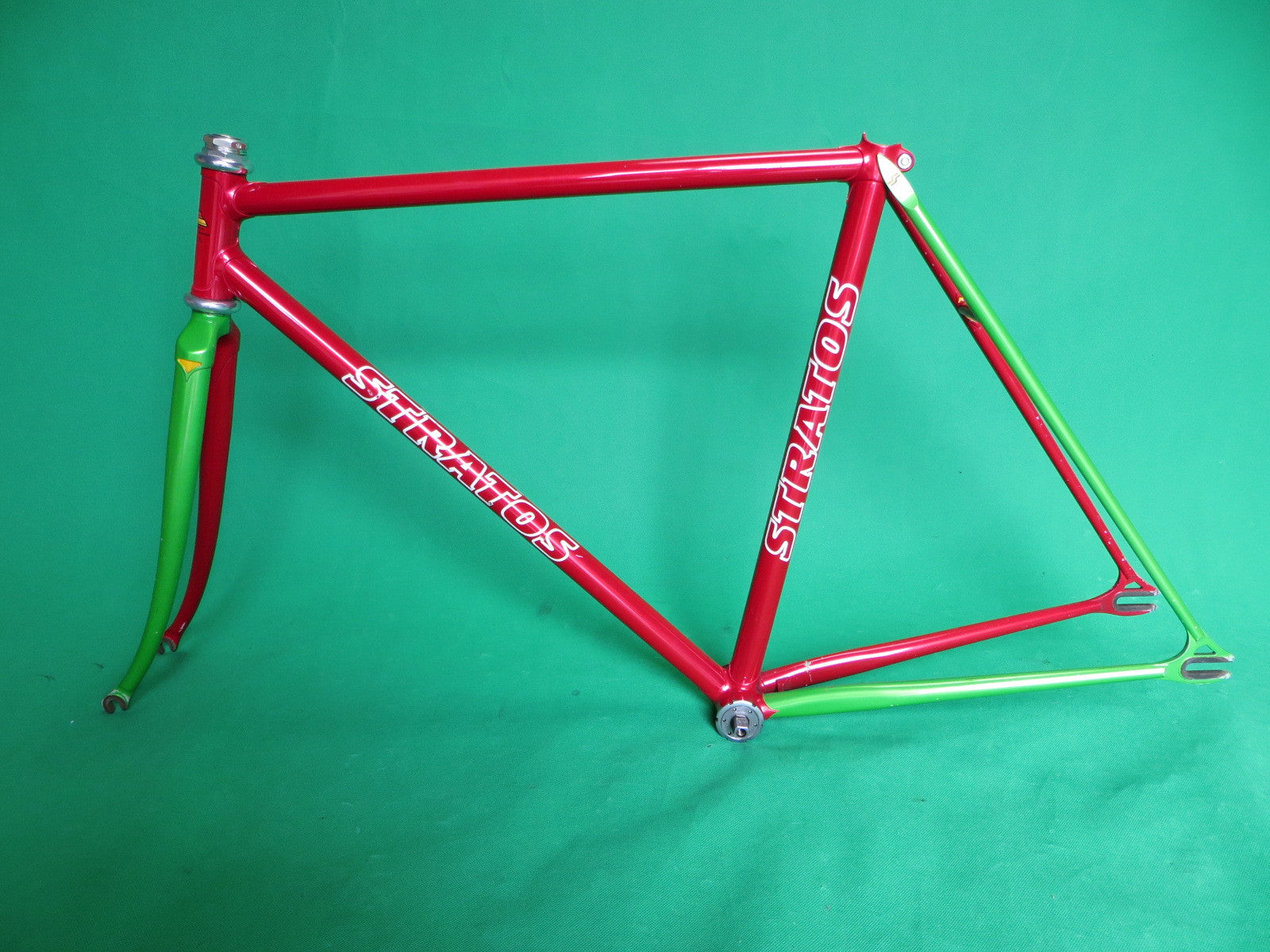 STRATOS // Red-Green Two-Tone // 51cm