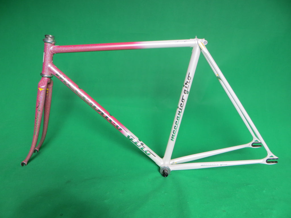 Giro // White Pink Fade with Rainbow Flake // 52cm