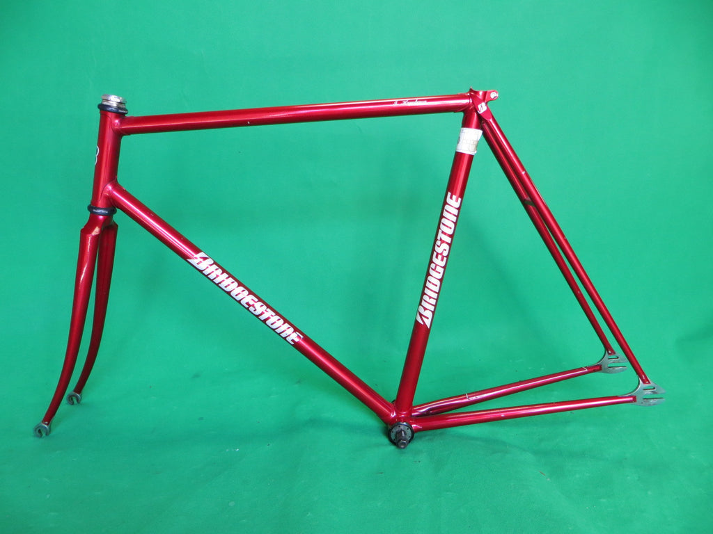 BRIDGESTONE // Red Metallic // Shimano Drop Ends // 55.5cm