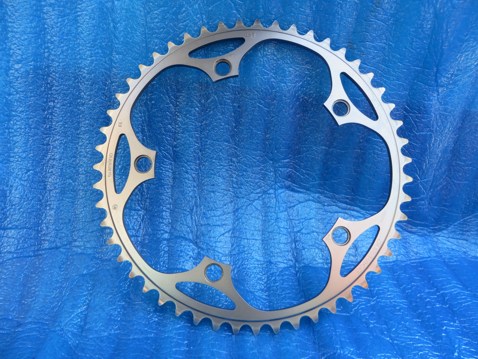 "Shimano Dura Ace FC-7710 1/8"" 144BCD NJS Chainring 51T (20060724)"