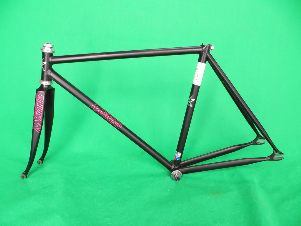Makino // *Matte* Black Columbus Max Fork and Keirin Spirit Tubing // 50cm