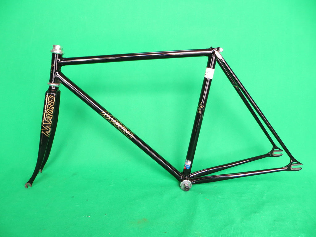 Makino // Black Columbus Max Fork and Keirin Spirit Tubing // 50cm