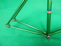 B123 370mm Steel NJS CUT Handlebar, Nitto Pearl 120mm/71 degree AA NJS Stem, Soyo Grips (17030902)