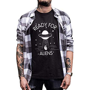 Ready For Aliens Hipster T-Shirt