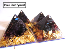 Load image into Gallery viewer, THE CREATIVITY PINEAL GLAND STIMULATION ORGONE PYRAMID